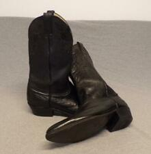 """Vintage Abilene Western Cowboy Soft Leather boots men's size 12D """"Made in Usa"""""""