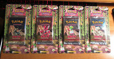 4x Pokemon NEO DISCOVERY Set BLISTER Booster Card Pack Box/Case COMPLETE Art TCG