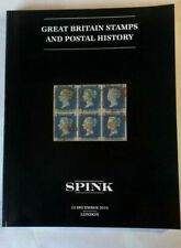 Spink Great Britain Stamps and Postal History auction catalogue London 2013