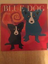 2014 BLUE DOG WALL CALENDAR BY GEORGE RODRIGUE--USED (LN)