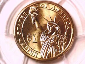 2007 D James Madison Dollar PCGS MS 66 Position B 11586891