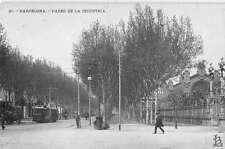 Barcelona Spain Paseo de la Industria Real Photo Antique Postcard J58157