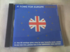 GREAT BRITISH SONG CONTEST FINALISTS 2000 - 4 TRACK SAMPLER CD - EUROVISION