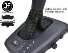 Cuciture verdi pelle grana superiore automatico Ghetta Del Cambio si adatta VOLVO V70 XC70 04-07