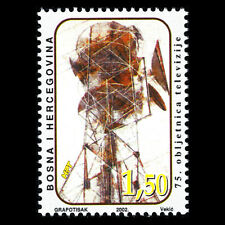 Bosnia 2002 - 75th Anniversary of the Television Technology - Sc 90 MNH