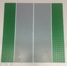 Airport Lego Base plate 44336px3 Green Runway Straight (6-Stud) From Set 10159