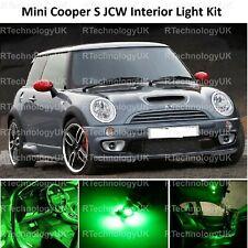 GREEN PREMIUM MINI COOPER S JCW R50 R53 INTERIOR FULL UPGRADE LED LIGHT KIT