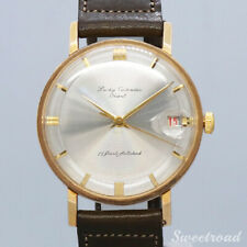 Orient Lucky Calendar 17 Jewels Vintage 1960s Automatic Auth Mens Watch Works