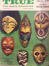 True Magazine Witch Doctor Masks March 1958 100417NONRH