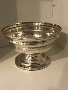 Antique American Coin Silver Bowl 1790