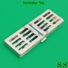 Sterilization Cassette Rack Tray Hold, Kit For Surgical Dental Instruments