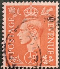 Stamp Great Britain 1951 1/2d King George VI Used