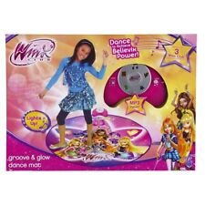 NICKELODEON WINX CLUB GROOVE GLOW LIGHT UP FLASHING PLAY DANCE MAT MP3 INPUT NEW