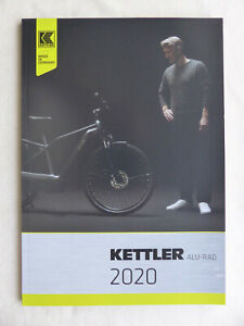 Kettler Aluräder E-Bikes Programm 2020 Trekking Pedelecs - Prospekt Brochure