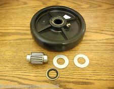 "John Deere 48"", 54"", 60"", 72"" cut deck roller wheel with bearings AM107560"