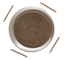 Denmark : 5 Öre 1899 VF+ ( great coin )