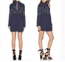 """Parker """"Sadie"""" Embroidered Shift dress, medium, color Aquarius, Retail $248"""