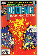 What If? 27 (07/81) VF- condition What If Phoenix Had Not Died? Miller Cover