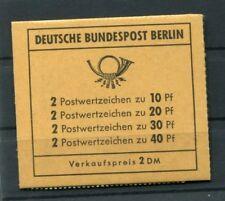 Berlín FOLLETO DE SELLO 8a correctamente ABIERTO Perfecto Estado (z4421
