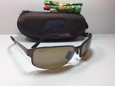 New Maui Jim TOPSAIL Polarized Sunglasses 505-19 Espresso/HCL Bronze Rare