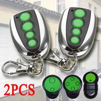 2x 4 Button Garage Remote Control Compatible for Merlin M844 M832 M842 230T