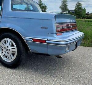 Buick Skylark, Somerset: 1986 - 1991, Left Rear Marker With Light Blue Bezel - 2