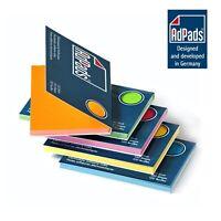 AdPads® elektrostatisch selbstklebende Haftnotizen | 100 x 68mm, 500 Bl. Box-Set