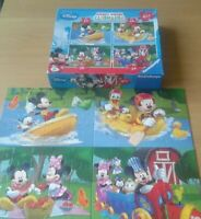 Mickey Mouse Clubhouse - Disney Ravensburger 4 In A Box Jigsaw Puzzle