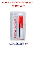 Tri-Wing & Philips Screwdriver Set for GBA NDS DSL Dsi 3DS XL Wii PS4 Controller