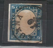 FRANCOBOLLI 1862 SARDEGNA 20 C. CORNA A/1362