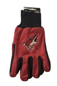 Arizona Coyotes NHL Ice Hockey 2 Tone Mens Gloves