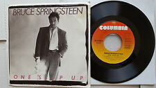 "BRUCE SPRINGSTEEN - One Step Up / Roulette 1987 PICTURE SLEEVE 7"" Columbia"