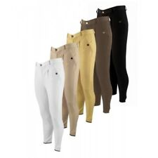 """Equetech Mens Excell Breeches 38"""" Champagne"""