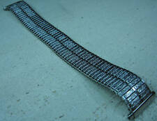 STRAIGHT ENDS FOR SQUARE WATCHES Stainless Steel Expansion 18-20mm Watch Band