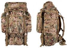 British Military Army US Molle Backpack Combat Rucksack Bergen Pack 60L BTP Bag