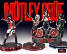 Mötley Crüe Rock Iconz Set 4 Statue Nikki Sixx Mick Mars, Tommy Lee Vince Neil !
