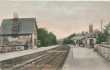 CARK IN CARTMEL Railway Station, Old Postcard Postally Used 1908 38