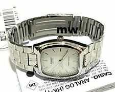 New Casio Ladies White Dial Stainless Steel Analog Watch LTP1169D LTP-1169D-7A