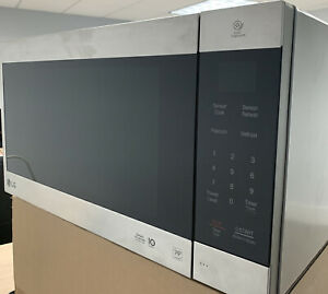 LG 2.0 Cu.Ft. NeoChef Countertop Microwave Stainless Steel LMC2075ST Easy Clean