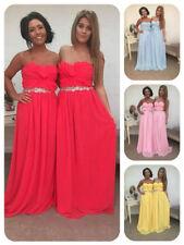 Chiffon A-line Strapless Sleeve Wedding Dresses