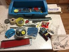 Vintage 1950's & 1970's Gilbert Erector Set Misc. Parts