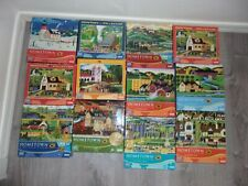 Lot of 12 JIGSAW PUZZLES 1000 Pcs  Hometown