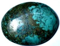 11.90 ct Natural High Grade Bisbee Turquoise Cabochon Gemstone # DR 099