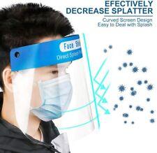 2 PCS Anti-fog Splash proof Face Empty Top Cap Full Face Protective shield Hat~