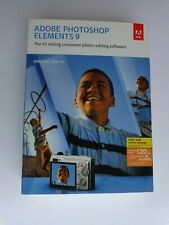 Adobe Photoshop Elements 9 - Mac/Windows (New Factory Sealed Retail Box)