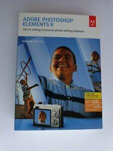 Adobe Photoshop Éléments 9 - Mac / Windows (Neuf Scellé Usine au Détail Boite)