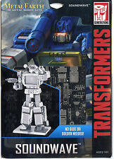 Metal Earth Transformers SOUNDWAVE 3D Puzzle Micro Model