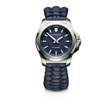 Victorinox INOX V Stainless Steel Blue Dial Paracord Style Women's Watch 241770