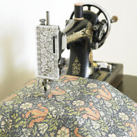 William Morris Compton Floral Heavy Weight Cotton Drill Fabric By Half Metre