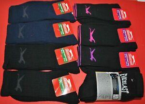 Job Lot of Slazenger / Everlast Mens  Womens Kids Sports Crew Work Socks  New